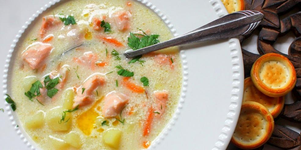 рыбный суп со сливками рецепт с фото
